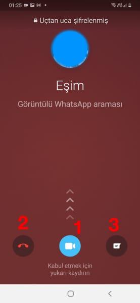 whatsapp-görüntülü-aramayı-açma
